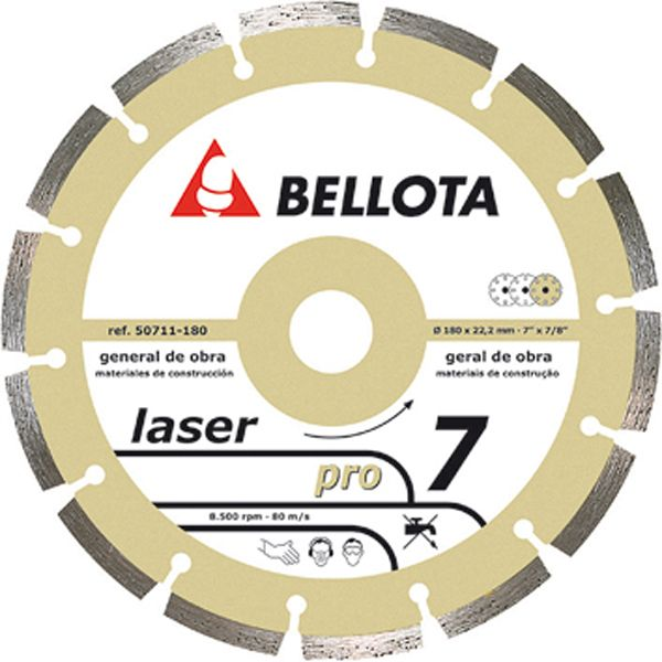 DISCO DIAMANTE BASIC LASER GENERAL DE OBRA 50711-230