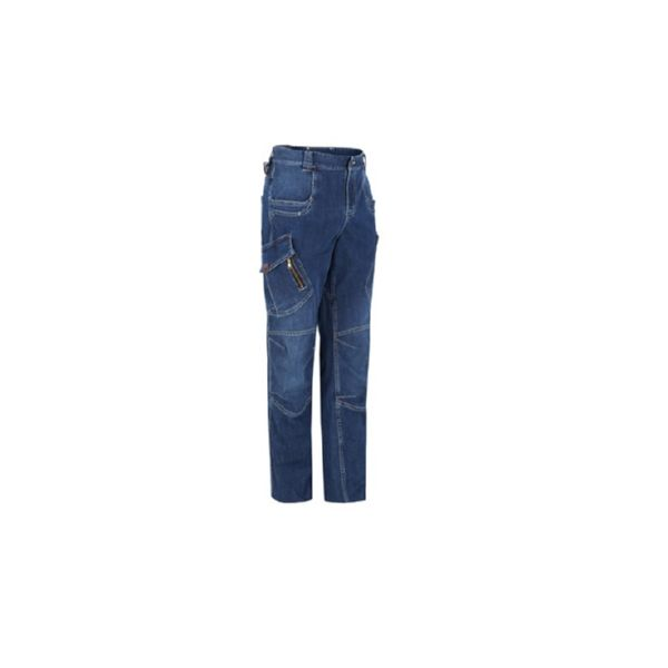 PANTALON VAQUERO MULTIBOLSILLOS DENIM REF. 1804 COLOR 534 TALLA 48 MONZA
